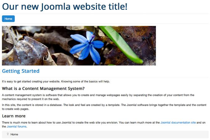 joomla layout